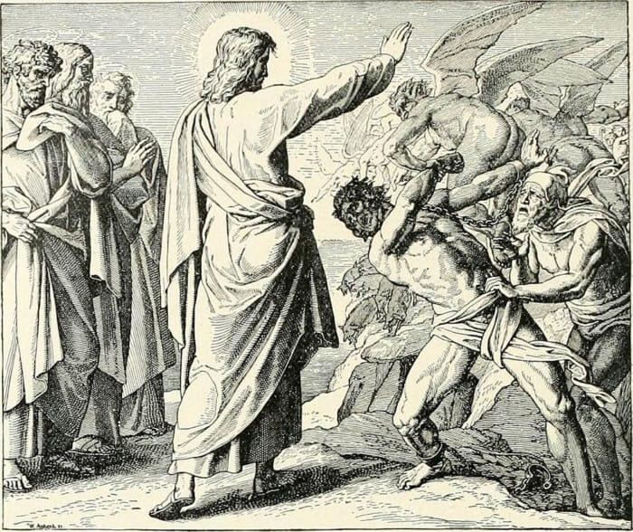 изгнание дьявола из человека