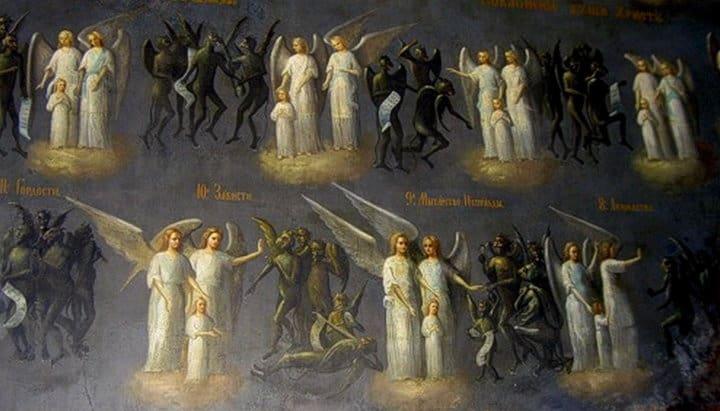 Мытарства души после смерти в православии