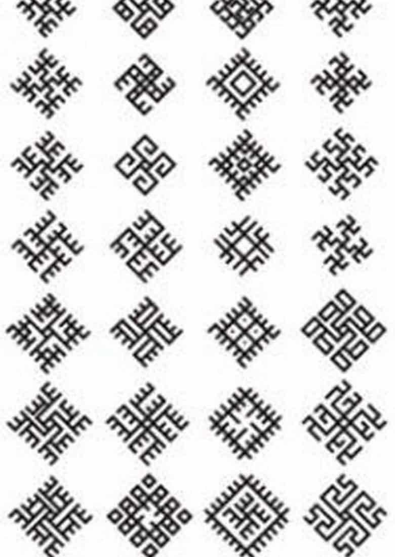 славянские обереги эскиз тату